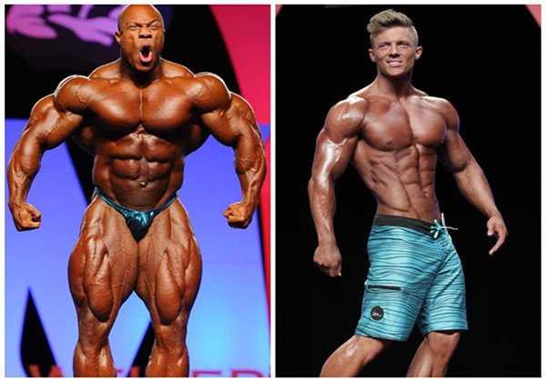 So sánh Bodybuilding với Fitness