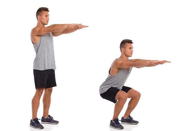 Squat tăng cơ bắp