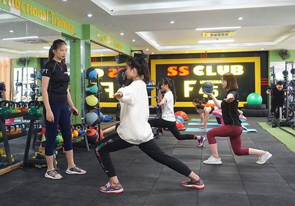 1. SS Club Fitness & Yoga Center Thanh Hoá.