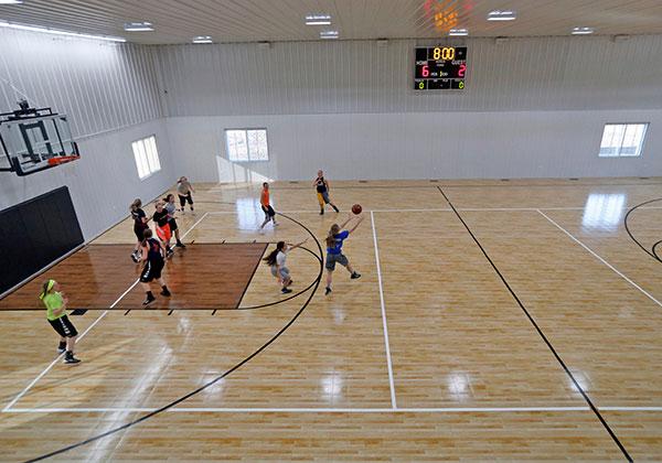 Thảm sân bóng rổ