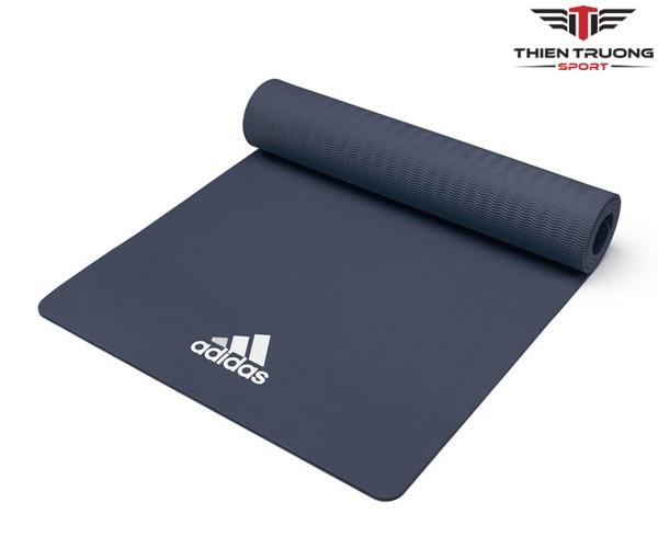 Thảm Yoga Adidas ADYG-10100BL màu xanh dương, dày 8mm