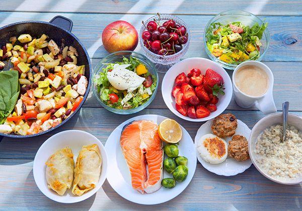 Thay đổi chế độ ăn giảm cân
