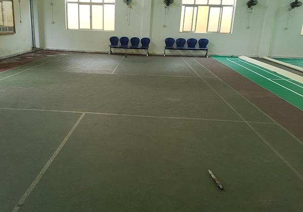 Thi công sân cầu lông tại Quảng Ninh 1