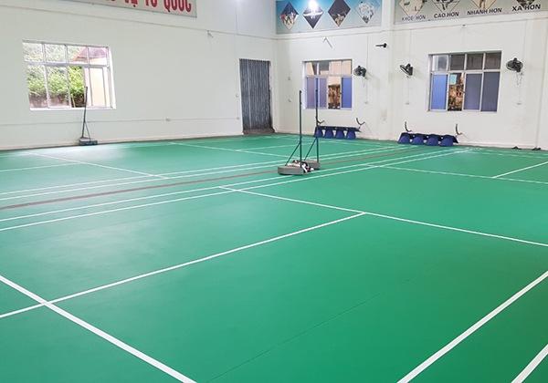 Thi công sân cầu lông tại Quảng Ninh 3