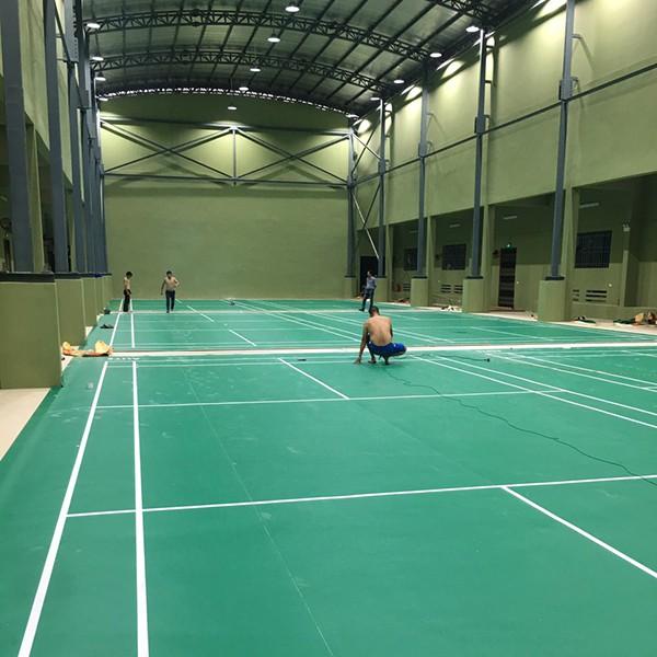 Thi công sân cầu lông tại Trường ĐH Thể dục thể thao Bắc Ninh 3