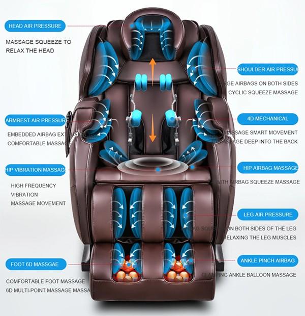 Thiết kế ghế massage Sakura C101