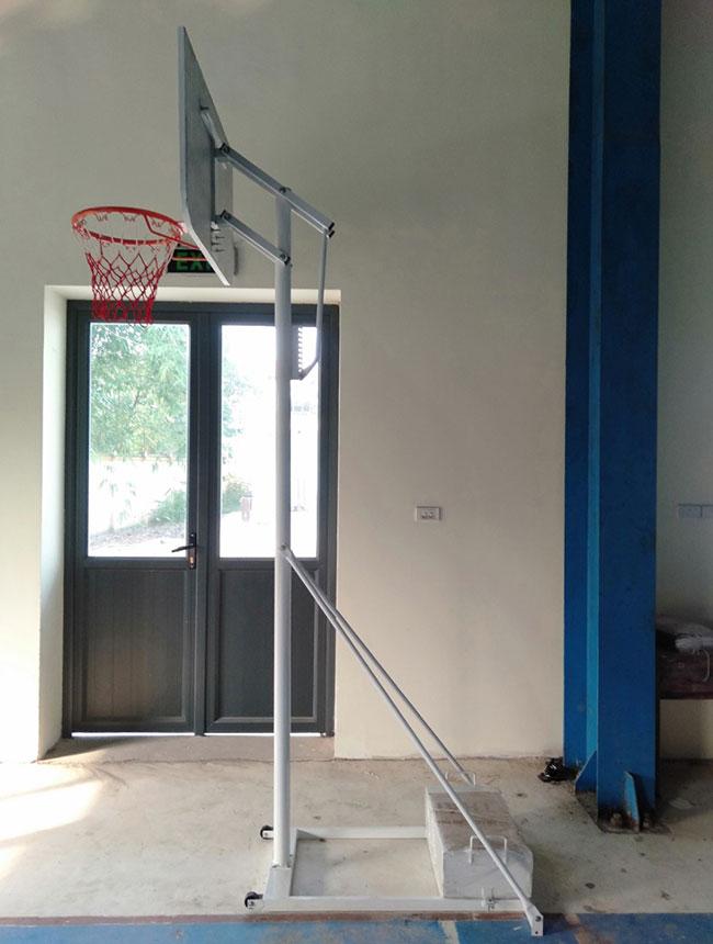 Thiết kế trụ bóng rổ học sinh