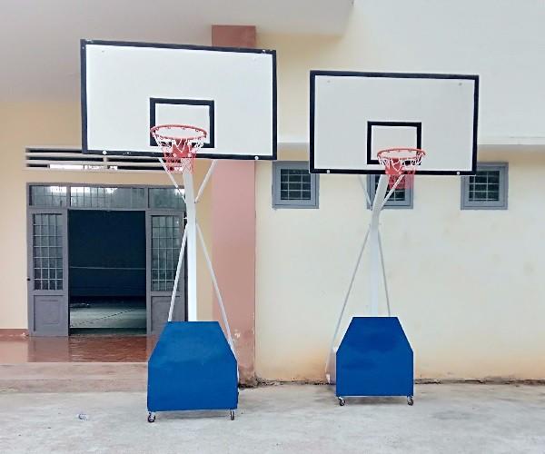 Trụ bóng rổ di động Pano Composite giá rẻ nhất tại Việt Nam !