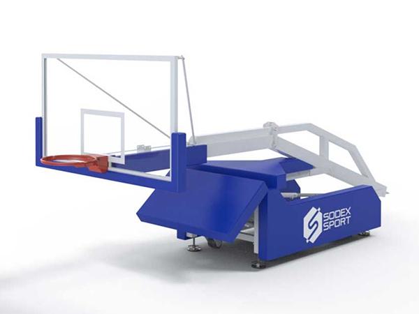 Trụ bóng rổ S14650 xếp gọn