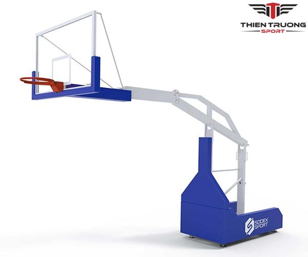 Trụ bóng rổ thi đấu S14650 của Sodex đạt chuẩn thi đấu quốc tế