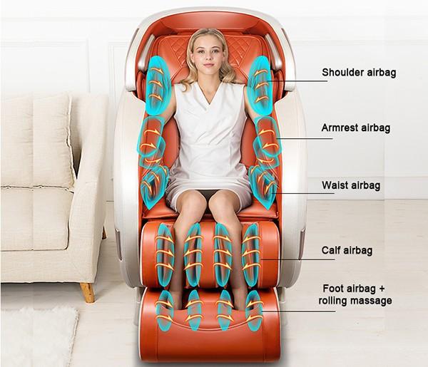 Túi khí ghế massage Sakura 5D Pro