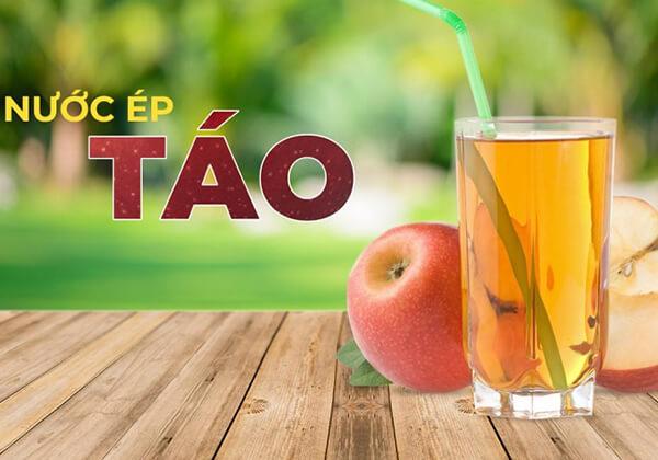 Nước ép táo có tác dụng giảm mỡ vùng bụng