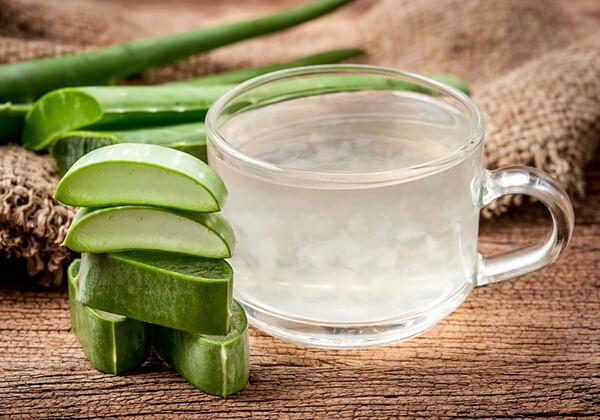 Uống nước nha đam có tác dụng giảm mỡ vùng bụng