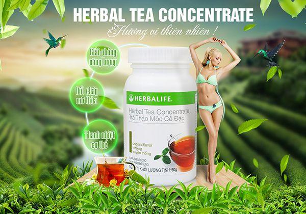 Uống trà thảo mộc tăng vòng 1