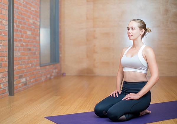 Vajrasana giúp tăng cân