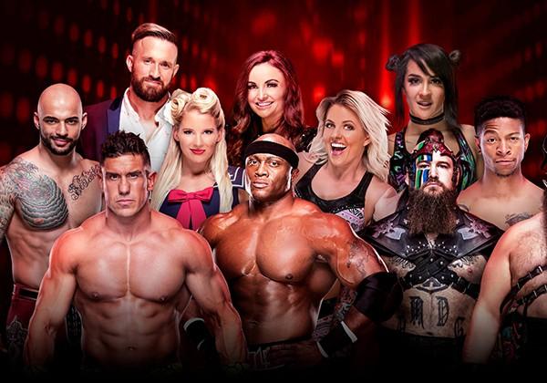 WWE thu hút các đô vật
