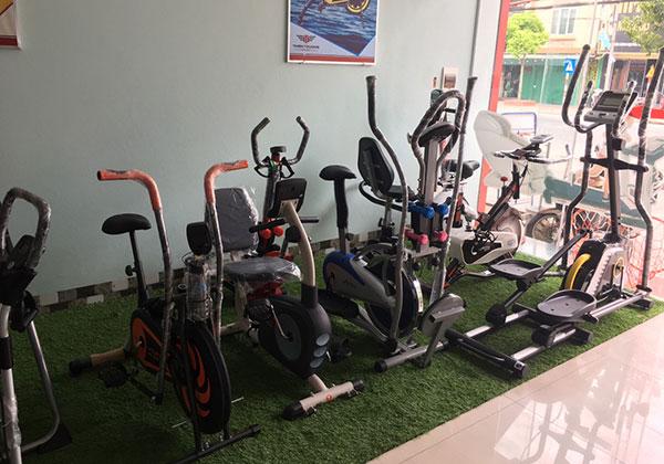 Xe đạp tập thể dục tại Nam Định