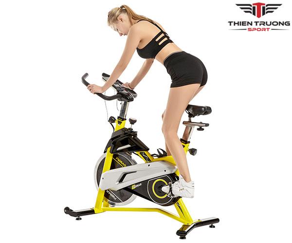 Xe đạp tập thể dục Tokado TK007 hỗ trợ tập giảm cân hiệu quả