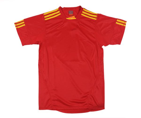 Áo thể thao 0490 đỏ chất liệu đẹp, màu sắc bắt mắt
