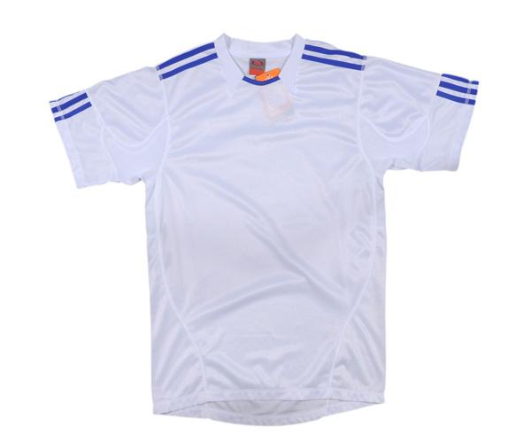 Áo thể thao 0490 trắng xanh chất liệu tốt giá rẻ nhất