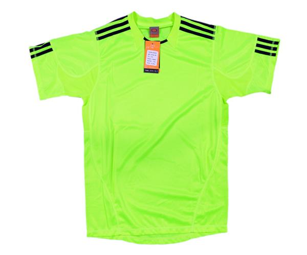 Áo thể thao 0490 xanh chuối chất liệu vải bền đẹp