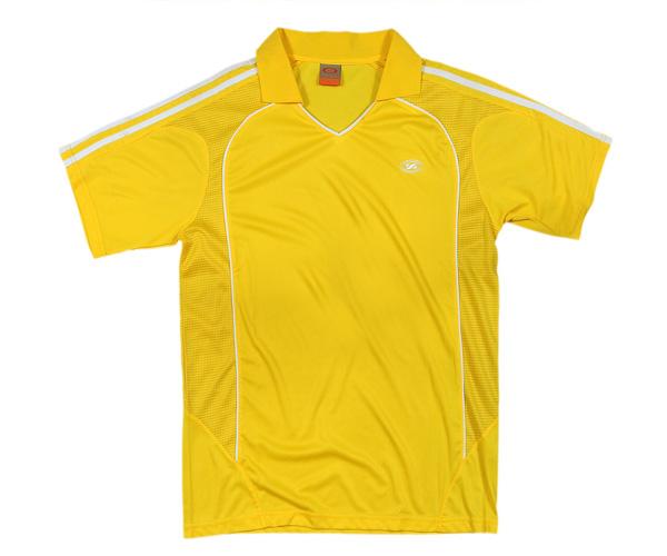 Áo thể thao 9417 vàng chất liệu vải đẹp rất bắt mắt