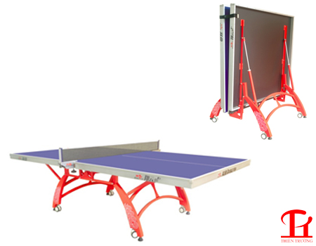 Top bàn bóng bàn gấp gọn và phù hợp cho không gian chật hẹp !