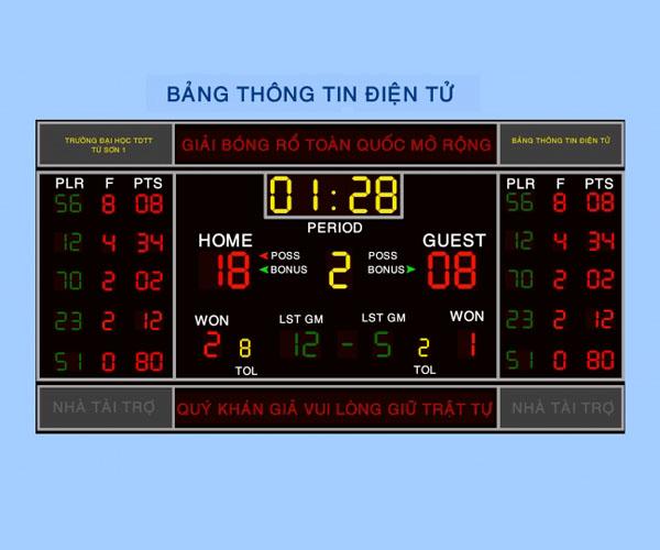 Bảng điểm điện tử dùng thi đấu thể thao giá rẻ nhất ở Việt Nam