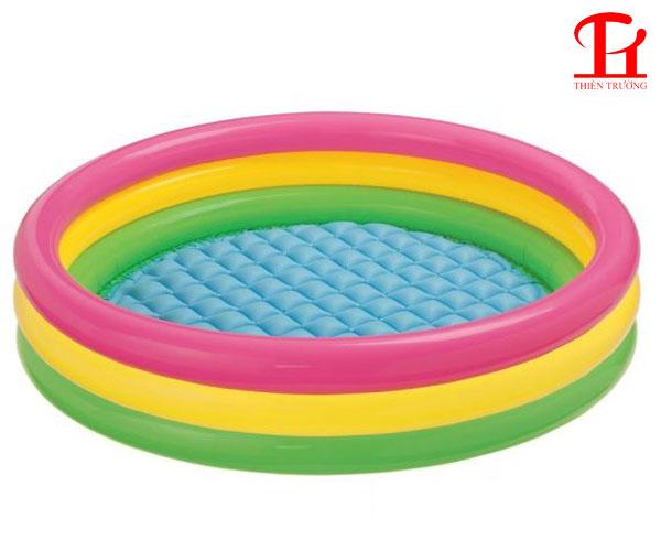 Bể bơi phao 3 tầng 1m47 Intex 57422 giá rẻ nhất tại Việt Nam !