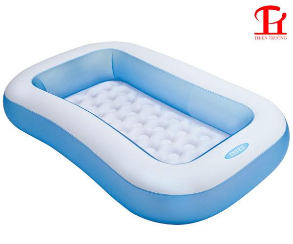 Bể bơi phao Intex chữ nhật 57403 dùng cho trẻ em giá rẻ Nhất
