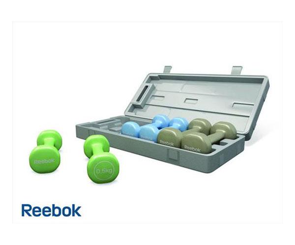 Bộ tạ tay Reebok 6 kg RE-11056 dùng cho tập thể dục tại nhà !
