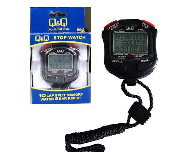 Đồng hồ bấm giây Q&Q tiêu chuẩn giá rẻ ở Thiên Trường Sport
