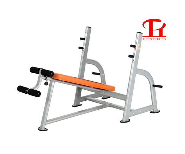 Ghế đẩy tạ dốc dưới DL 2636 chuyên dùng cho phòng tập Gym