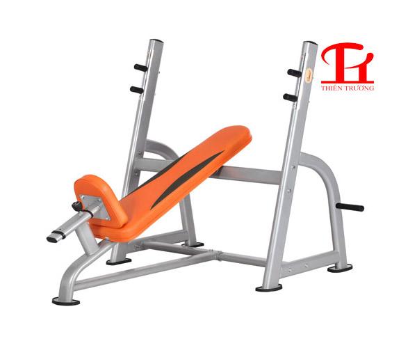 Ghế đẩy tạ dốc trên DL 2633 chuyên dùng cho phòng tập Gym