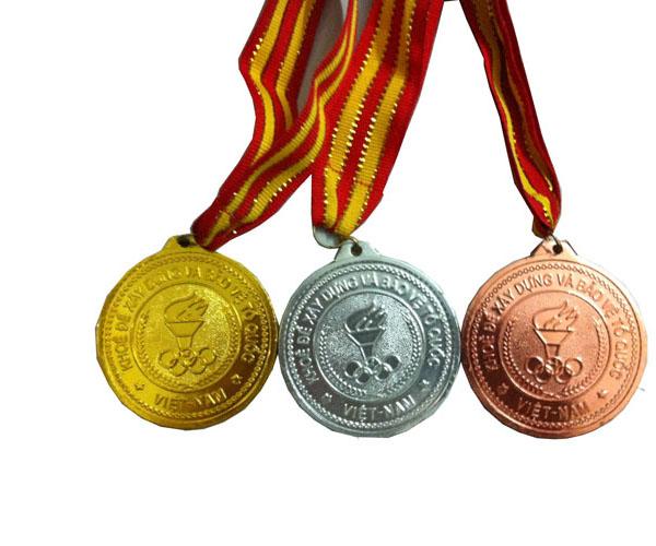 Huy chương lưu niệm dùng cho trao giải thể thao và giá rẻ Nhất