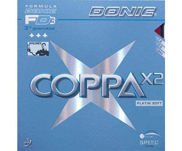 Mặt vợt bóng bàn Donic Coppa X2 Platin Soft xịn và giá rẻ nhất