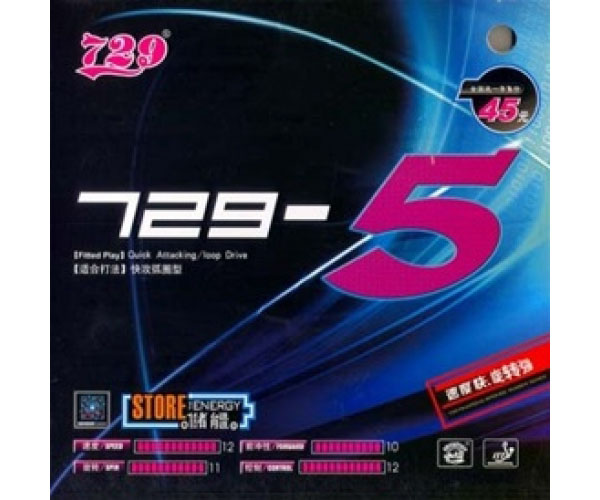 Mặt vợt bóng bàn 729-5 chất lượng tốt giá rẻ nhất tại Việt Nam
