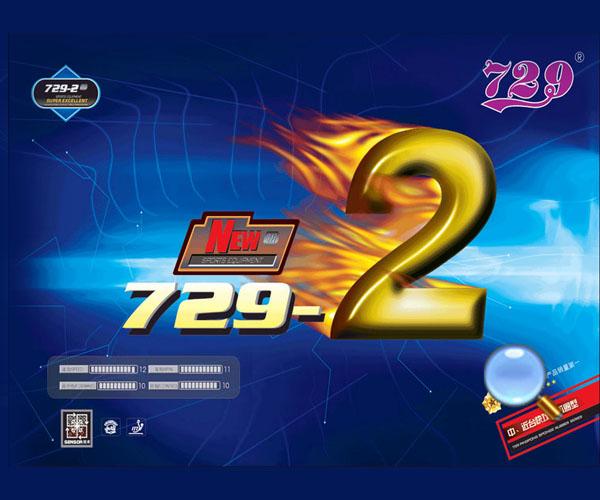 Mặt vợt bóng bàn 729-2 dài giá rẻ nhất tại Thiên Trường Sport !