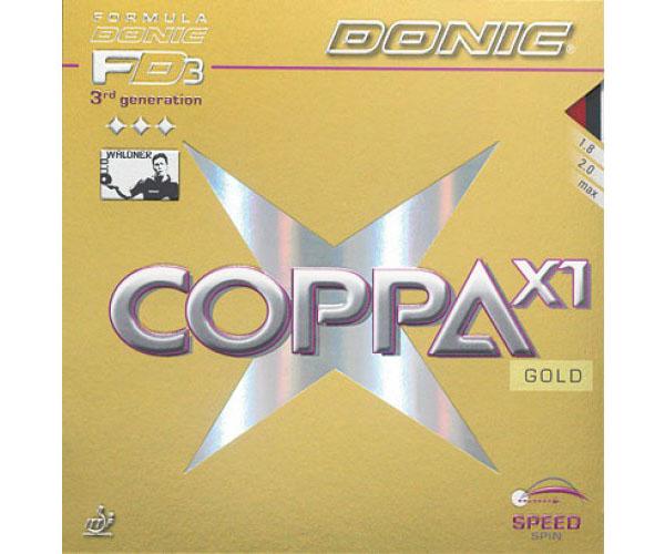 Mặt vợt bóng bàn Donic Coppa X1 Gold giá rẻ tại Thiên Trường