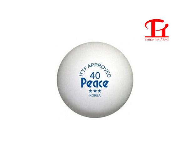 Quả bóng bàn Peace 3 sao chính hãng giá rẻ tại Thiên Trường !