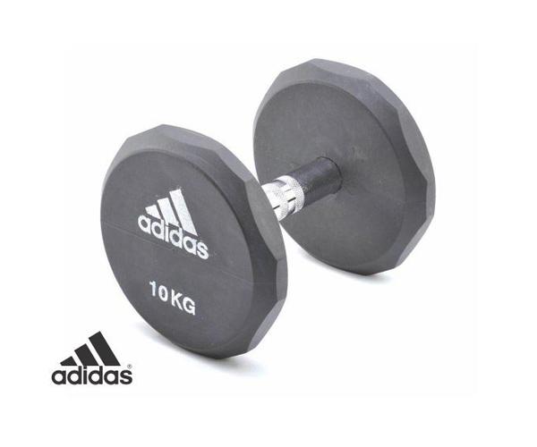 Tạ tay cao su 10 kg ADWT-10322 của hãng Adidas giá rẻ Nhất