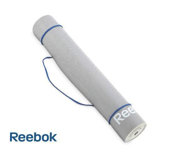 Thảm tập Yoga Reebok RAEL-11022GR dày 4mm, màu xám !