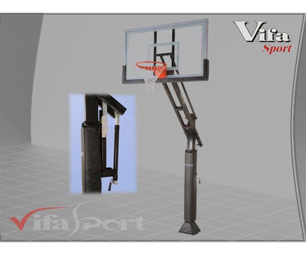 Trụ bóng rổ HOOPS-USA cố định cho trường học giá rẻ Nhất !