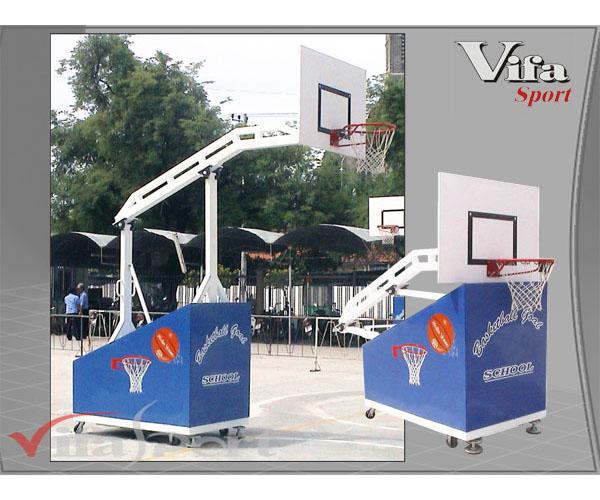 Trụ bóng rổ trường học 801870 đạt chuẩn thi đấu và giá rẻ Nhất