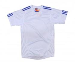 Áo thể thao 0490 trắng xanh