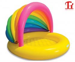 Bể bơi phao mái che cầu vồng Intex 57420