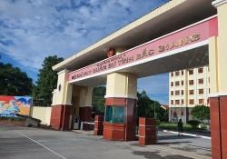 Lắp đặt thiết bị thể thao ngoài trời tại Bộ CHQS tỉnh Bắc Giang