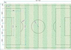 Kích thước sân bóng đá 5, 7, 11 người chuẩn FIFA bao nhiêu?