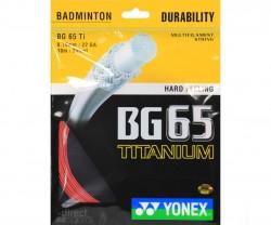 Dây vợt cầu lông Yonex BG 65 Ti