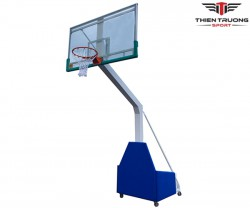 Trụ bóng rổ di động kính cường lực
